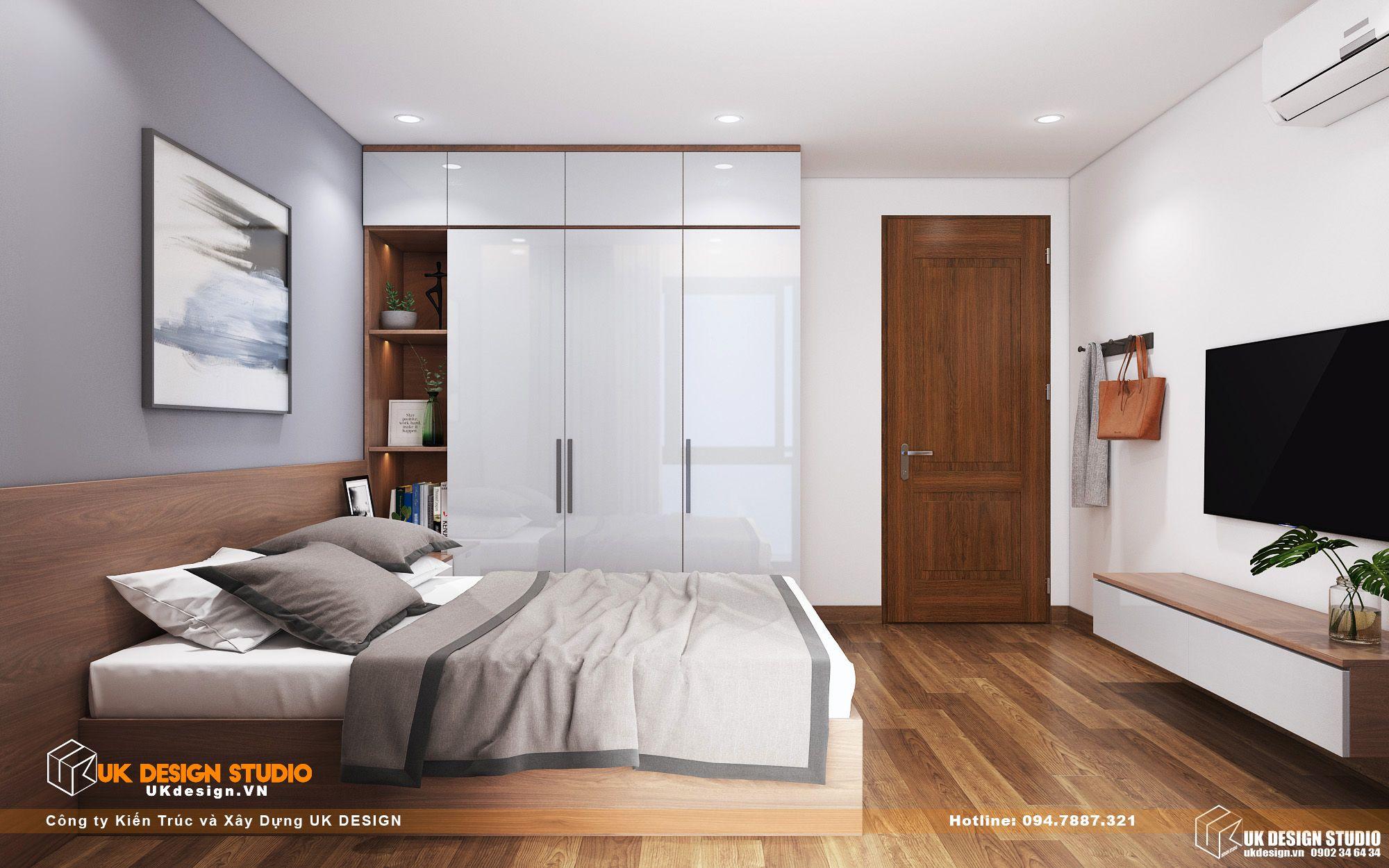 Thiết kế nội thất biệt thự nhà đẹp 3 tầng ở Quận 8 - phòng gia nhan 12